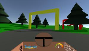 Cardboard Karts InGame